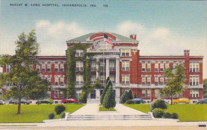 Indiana Indianapolis Robert W Long Hospital