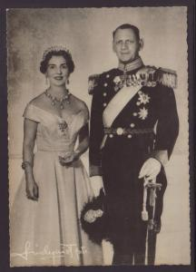 King Frederik IX and Queen Ingrid