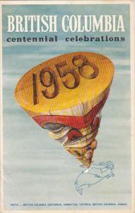 Canada British Columbia's Centennial Celebrations 1958