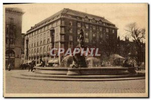 Old Postcard Helsinki Wallgrenin Suihkakairo