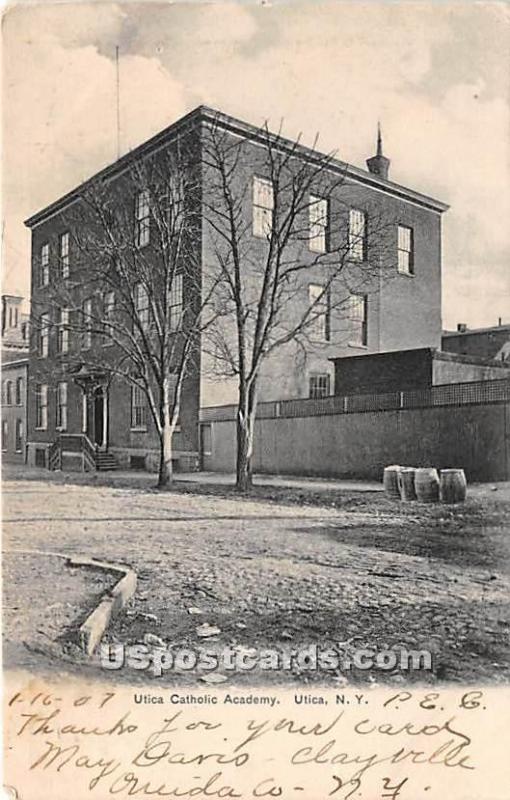 Utica Catholic Academy Utica NY 1907