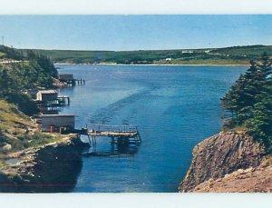 Pre-1980 SALT POND Burin Peninsula Newfoundland NL AD6086