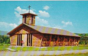 Vermont Stowe Church Of The Blessed Sacrament 1969