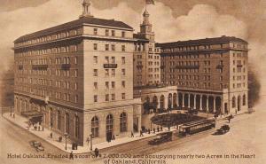 OAKLAND , California , 00-10s ; Hotel Oakland