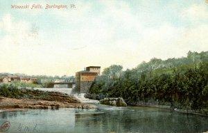VT - Burlington. Winooski Falls