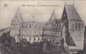Belgium Beauraing Le Chateau avant l'incendie 1909
