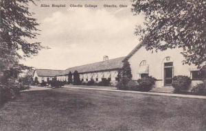 Ohio Oberlin Allen Hospital Oberlin College Albertype