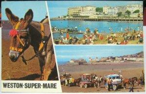 England Weston-super-Mare Marine Lake etc - posted 1974