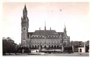 Den Haag Holland Vredespaleis Den Haag Vredespaleis