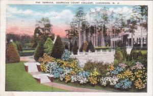 The Terrace Georgian Court College Lakewood New Jersey 1938