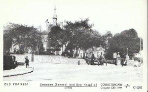 Wales Postcard - Old Swansea - Swansea General and Eye Hospital c1910 - 2091