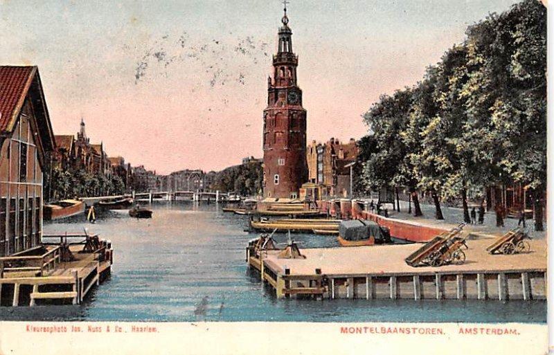 Montelbaanstoren Amsterdam Holland 1905