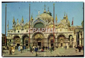 Postcard Modern Chiesa di Venezia Marco