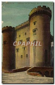 Old Postcard Tarascon Chateau of King Rene
