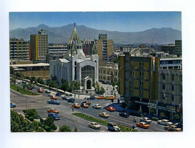 192914 IRAN TEHRAN Karimkhanzand street old photo postcard
