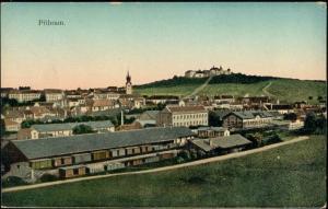 czech, Bohemia, PRIBRAM FREIBERG, Panorama (1910s)