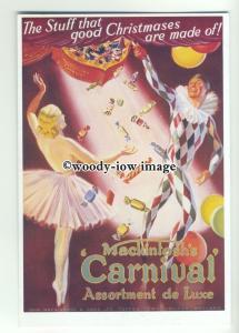ad3746 - Mackintosh's Carnival Assorment Of Sweets - Modern Advert Postcard
