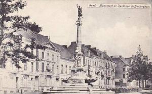 Belgium Gent Gand Monument de Kerkhove de Denterghem 1905