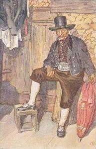 Austria Volkstypen Nach Originalen von Adolf Kaspar