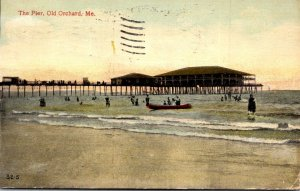 Maine Old Orchard The Pier 1912