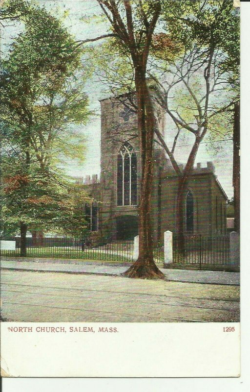 North Church, Salem,Mass.