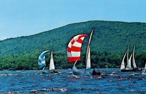 NH - Lake Winnipesaukee. Sailboat Races
