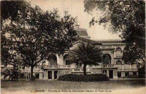CPA AK INDOCHINA Saigon Une aile du Palais du Gouverneur VIETNAM (956603)