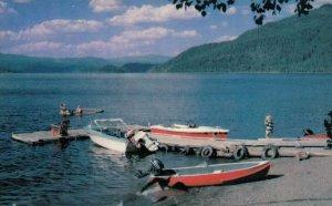 Beautiful Ponderosa Resort, CANIM LAKE, B.C., 1950-60s