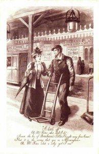 Nostalgia Postcard 1893 Beecham's Pills Advertisement Reproduction Card NS24