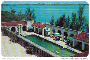 Bermuda Swimming Pool At The Castle Harbour Hotel 1957