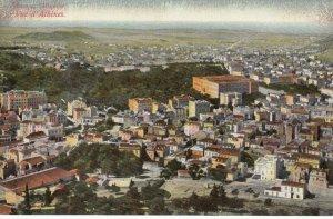 ATHENS , Greece , 1900-10s; Bird's Eye View  of Athens