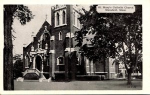 Massachusetts Mansfield St Mary's Catholic Church Dexter Press
