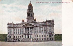 Michigan Detroit New Wayne County Building