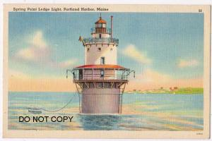Lighthouse, Spring Point Ledge, Portland ME