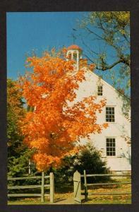 PA EPHRATA Cloister Academy PENN German Baptists Postcard Pennsylvania