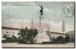 Nice Old Postcard Centennial Monument