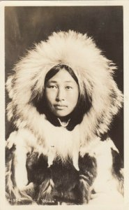 RP: Eskimo Girl Obleka , Alaska , 1930s
