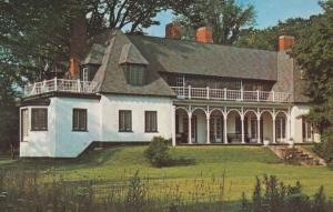 Stephen Leacock Economist Ecomony Rare Home Brewery Bay Ontario Canada Postcard