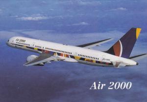 Air 2000 Boeing 757 Jet Airplane , 1996