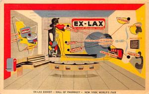Medicine Advertising Old Vintage Antique Post Card Ex Lax 1939