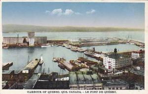 General view, Harbour of Quebec, Canada,00-10s
