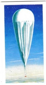 Trade Cards Brooke Bond Tea Transport Through The Ages No 15 Gas Balloon