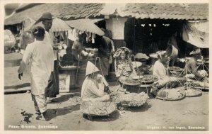 Indonesia Soerabaja Surabaya Pasar Groedo RPPC 06.74