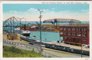 Ohio Conneaut View Of Conneaut Harbor On Lake Erie Curteich