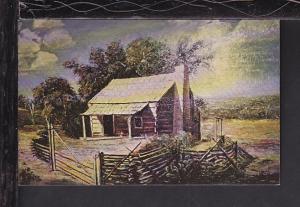 Birth Place,John Garner, Near Detroit,TX Postcard BIN