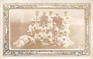Baseball Real Photo 1914