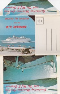 Cruising the caribbean with the M/S SKYWARD , 50-60s