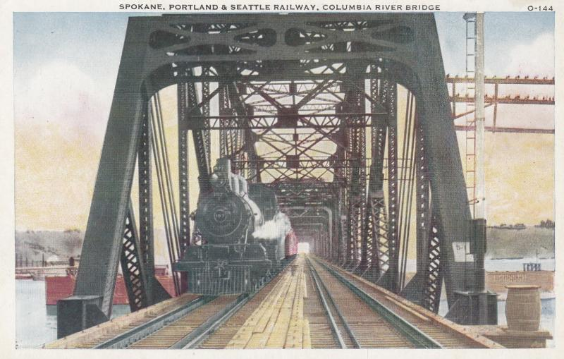 Columbia River Railroad Bridge , Portland , Oregon , 1910s