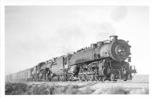 G23/ Eaton Colorado RPPC Postcard c1950s Railroad Locomotive Kindig