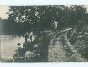 Pre-1920's rppc NICE VIEW Anamosa Iowa IA i5456